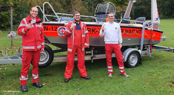 Drei neue Bootsführer