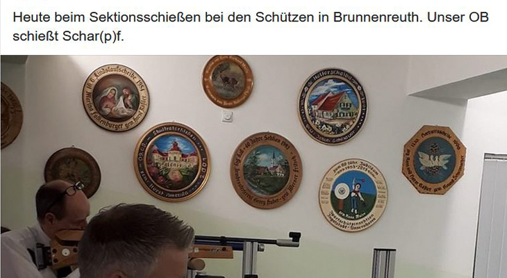 CSU-Kreisvorsitzender Alfred Grob zum umstrittenen Facebook-Posting von CSU-Stadtrat Achhammer