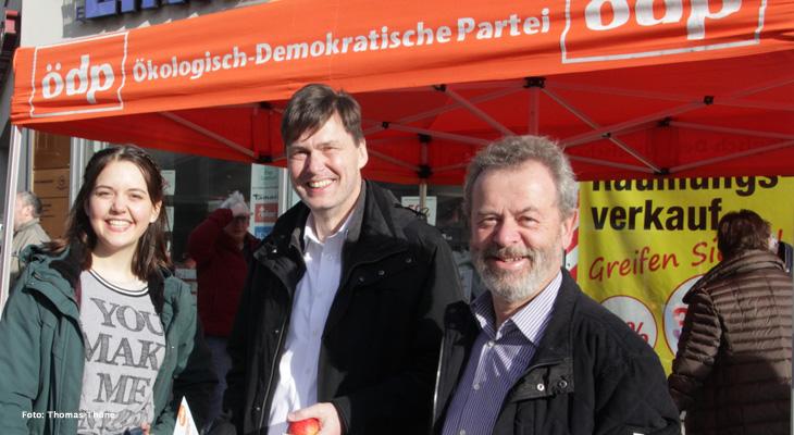 Gespräch mit OB-Kandidat Raimund Köstler (ÖDP) zur Kommunalwahl und zum Brexit