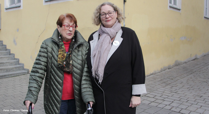 Gespräch mit OB-Kandidatin Petra Kleine (GRÜNE) zur Kommunalwahl und zum Brexit