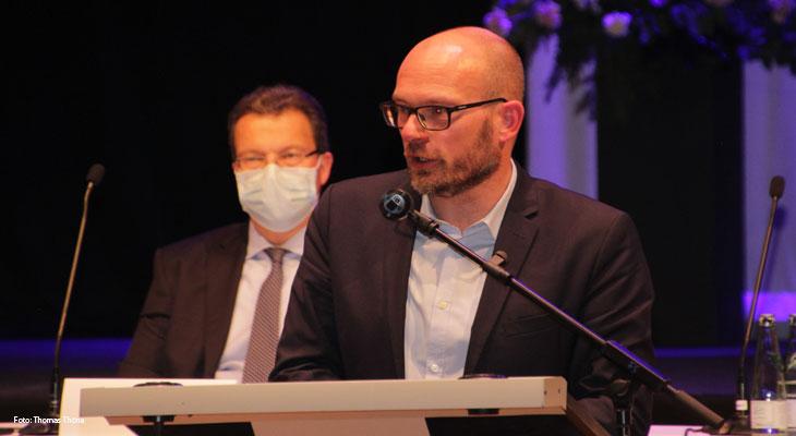 GRÜNEN-Fraktionschef Höbuschs Redebeitrag wurde als Drohung wahrgenommen