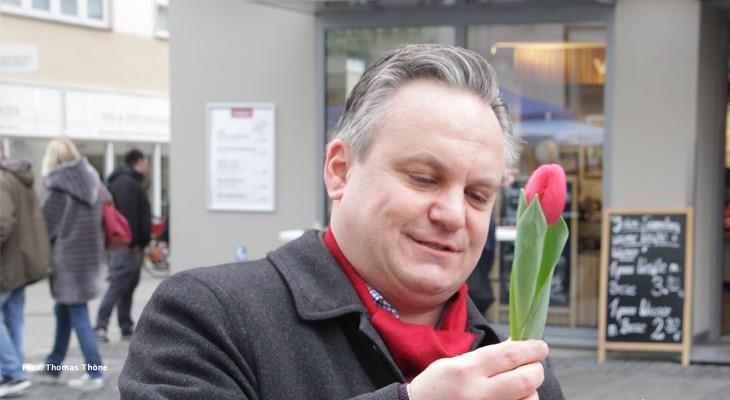 Gespräch mit OB-Kandidat Dr. Christian Scharpf (SPD) zur Kommunalwahl und zum Brexit