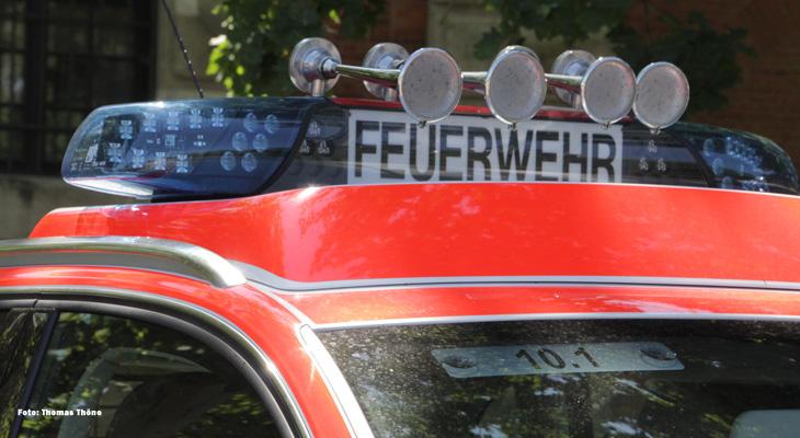 Ingolstadt: Abermals Feuer in einer Schule - Zeugen gesucht